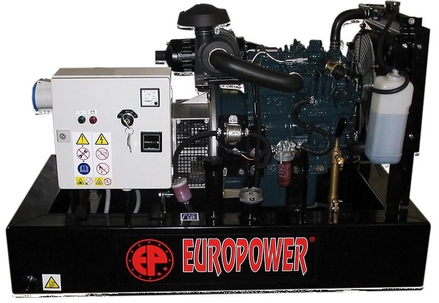 Генератор дизельный Europower EP 30 DE в Апшеронске
